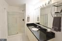 Master Bathroom with Shower - 19355 CYPRESS RIDGE TER #920, LEESBURG