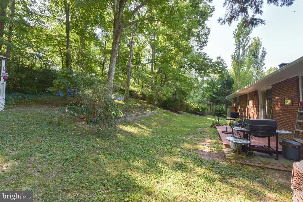 Backyard - 8541 MOUNT ZEPHYR DR, ALEXANDRIA