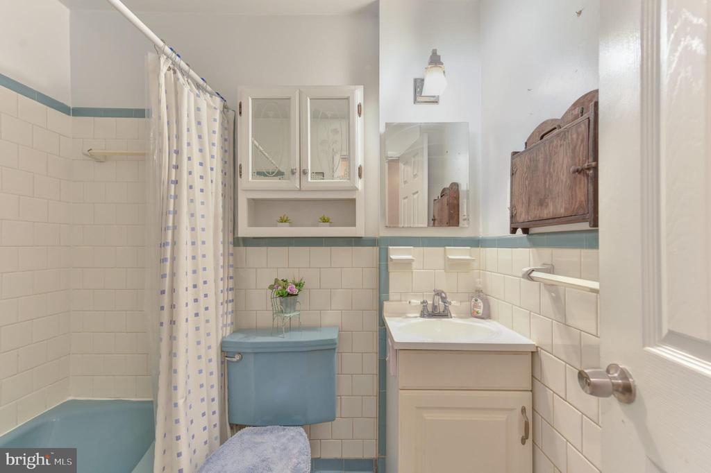 Hall bath - 8541 MOUNT ZEPHYR DR, ALEXANDRIA