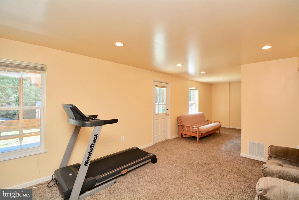 LARGE RECREATION ROOM - WITH WALKOUT - 35 BLOOMINGTON LN, STAFFORD