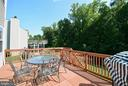 LARGE DECK OFF THE FAMILY ROOM - 35 BLOOMINGTON LN, STAFFORD