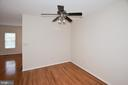 Dining Room with ceiling fan/lights. - 15704 LANSDALE PL, DUMFRIES
