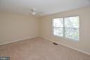 Spacious Master Bedroom with new carpet and paint. - 15704 LANSDALE PL, DUMFRIES