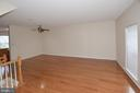 Dining Room  w/ engineered wood fl & neutral paint - 15704 LANSDALE PL, DUMFRIES