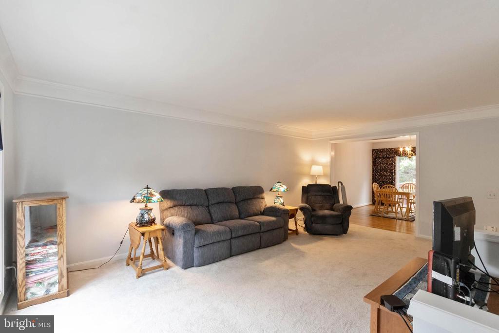 Large Living Area freshly painted - 7817 REBEL WALK DR, MANASSAS