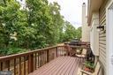 Large deck - 7817 REBEL WALK DR, MANASSAS