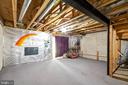 Walkout basement ready for your inspiration - 7817 REBEL WALK DR, MANASSAS