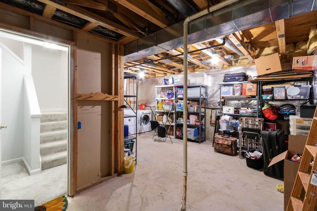 Finish off basement or keep for storage..or both! - 7817 REBEL WALK DR, MANASSAS
