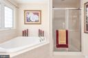 Luxury Master Bath - 4004 SAPLING WAY, TRIANGLE