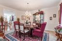 Formal Dining Room - 4004 SAPLING WAY, TRIANGLE