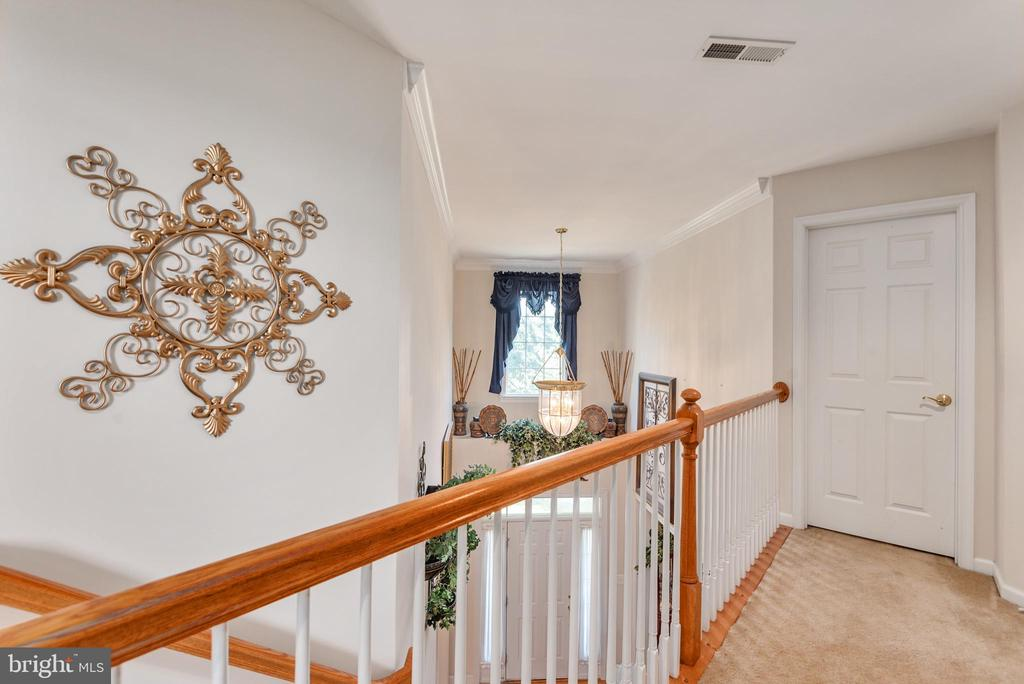 Upstairs Hall - 4004 SAPLING WAY, TRIANGLE