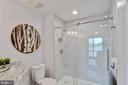 Master bath updated in 2017 - 11184 HARBOR CT, RESTON