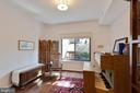 Enjoy garden and patio views from bedroom 2 - 11184 HARBOR CT, RESTON