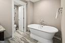 Free-standing tub in upper level full bath - 2408 16TH ST N, ARLINGTON