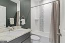 Full hall bath on 2nd level - 2408 16TH ST N, ARLINGTON