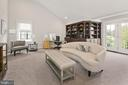 Cathedral ceilings, balcony and ample bookcases - 2408 16TH ST N, ARLINGTON