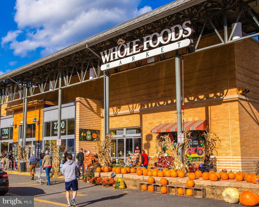 Whole Foods in 3 blocks away - 2408 16TH ST N, ARLINGTON