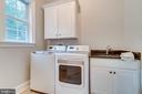 Laundry Room Main Level - 8305 CRESTRIDGE RD, FAIRFAX STATION
