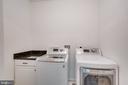 Laundry upper level - 8305 CRESTRIDGE RD, FAIRFAX STATION