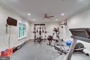 Work out room lower level - 8305 CRESTRIDGE RD, FAIRFAX STATION
