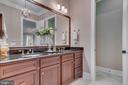Bath second master suite - 8305 CRESTRIDGE RD, FAIRFAX STATION