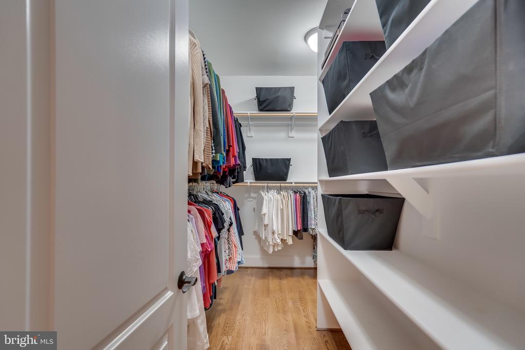 Master closet - 8305 CRESTRIDGE RD, FAIRFAX STATION
