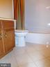 FULL BATH WITH CERAMIC TILE FLOORING - 35 BLOOMINGTON LN, STAFFORD