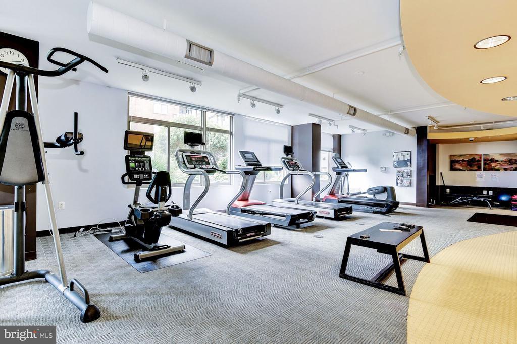 Fitness Center - 3600 S GLEBE RD #310W, ARLINGTON