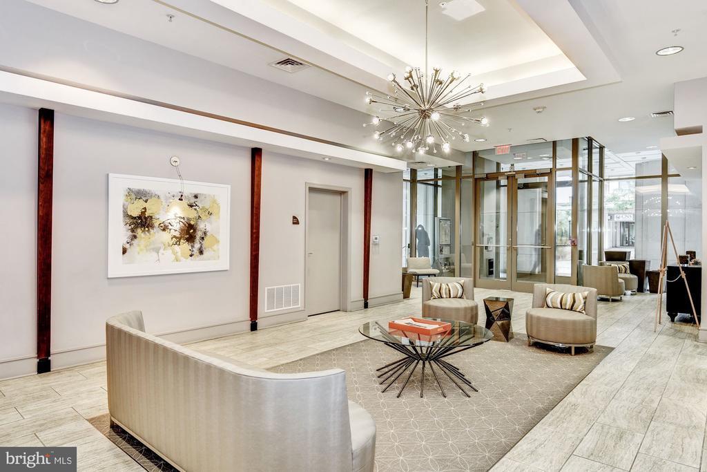 lobby - 3600 S GLEBE RD #310W, ARLINGTON