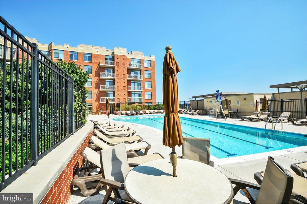 community pool - 3600 S GLEBE RD #310W, ARLINGTON
