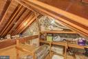 Massive Attic for Storage or Many Converted to BR - 4318 36TH ST S, ARLINGTON
