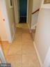 Ceramic tile hallway - 6200 MASSAPONAX DR, FREDERICKSBURG