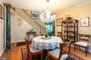 Dining Room - 11200 PAVILION CLUB CT, RESTON