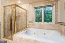 Master Bath - 11200 PAVILION CLUB CT, RESTON