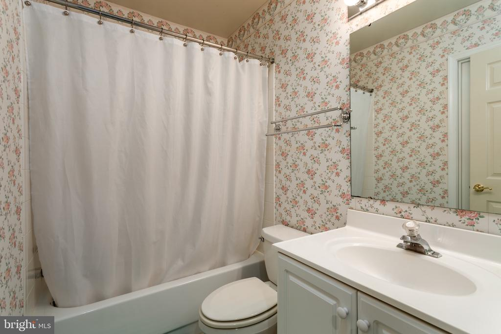 Full Bath in Basement - 11200 PAVILION CLUB CT, RESTON