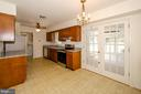 Kitchen with table space - 101 SW MORVEN PARK RD SW, LEESBURG