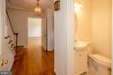 Foyer and   door to  powder room,door to living rm - 101 SW MORVEN PARK RD SW, LEESBURG