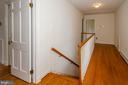 Upstais hallway - 101 SW MORVEN PARK RD SW, LEESBURG