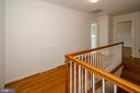 Upstairs hallway - 101 SW MORVEN PARK RD SW, LEESBURG