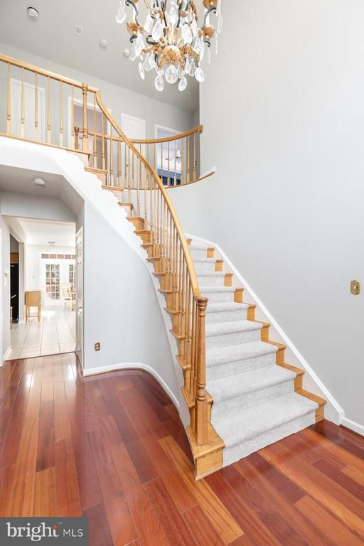 Foyer - 13807 LAUREL ROCK CT, CLIFTON