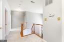 Hallway - upper level - 13807 LAUREL ROCK CT, CLIFTON