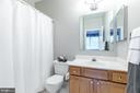 En-suite bath to bedroom #2 - 13807 LAUREL ROCK CT, CLIFTON