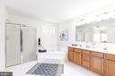 Master bath - 13807 LAUREL ROCK CT, CLIFTON