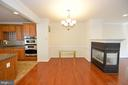3 sided fireplace - 19342 GARDNER VIEW SQ, LEESBURG