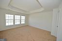 Two closets in master bedroom - 19342 GARDNER VIEW SQ, LEESBURG
