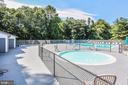 Community pool - 1600 RENATE DR #301, WOODBRIDGE
