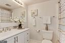 Updated Full bath - 1600 RENATE DR #301, WOODBRIDGE