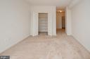Master bedroom closet door open - 19355 CYPRESS RIDGE TER #823, LEESBURG