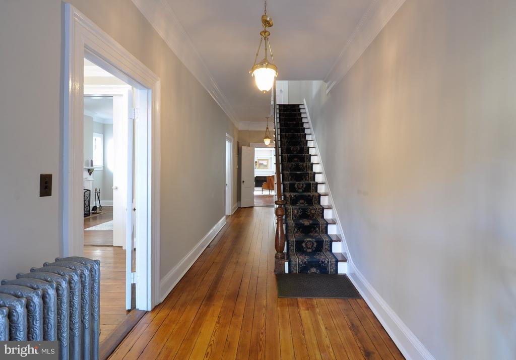Main Entrance hallway - 611 CAROLINE ST, FREDERICKSBURG