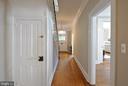 Basement door and view towards front door - 611 CAROLINE ST, FREDERICKSBURG